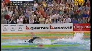 2001 | Ian Thorpe Vs Grant Hackett | World Record | 7.41.59 | 800m Freestyle | 2 of 2
