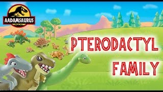 the pterodactyl family go fishing dinosaur and friends