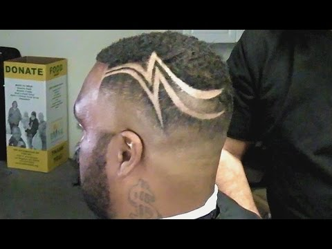 Romanatwood Haircut Lightning Bolt