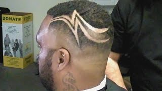 How To Easily Do Freestyle Barber Designs