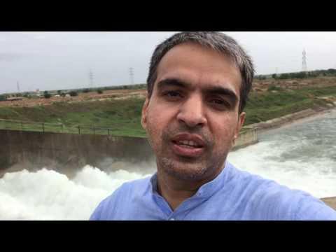 Narmada canal bridge,kadi,gujarat,india