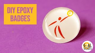 DIY Epoxy Badge Tutorial