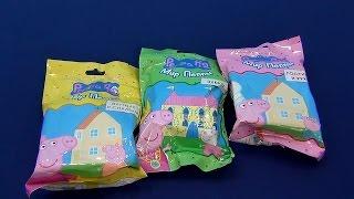 Свинка Пеппа. Три набора: Мама Свинка, Папа Свин, Сьюзи, Дени. Распаковка Свинки Пеппы