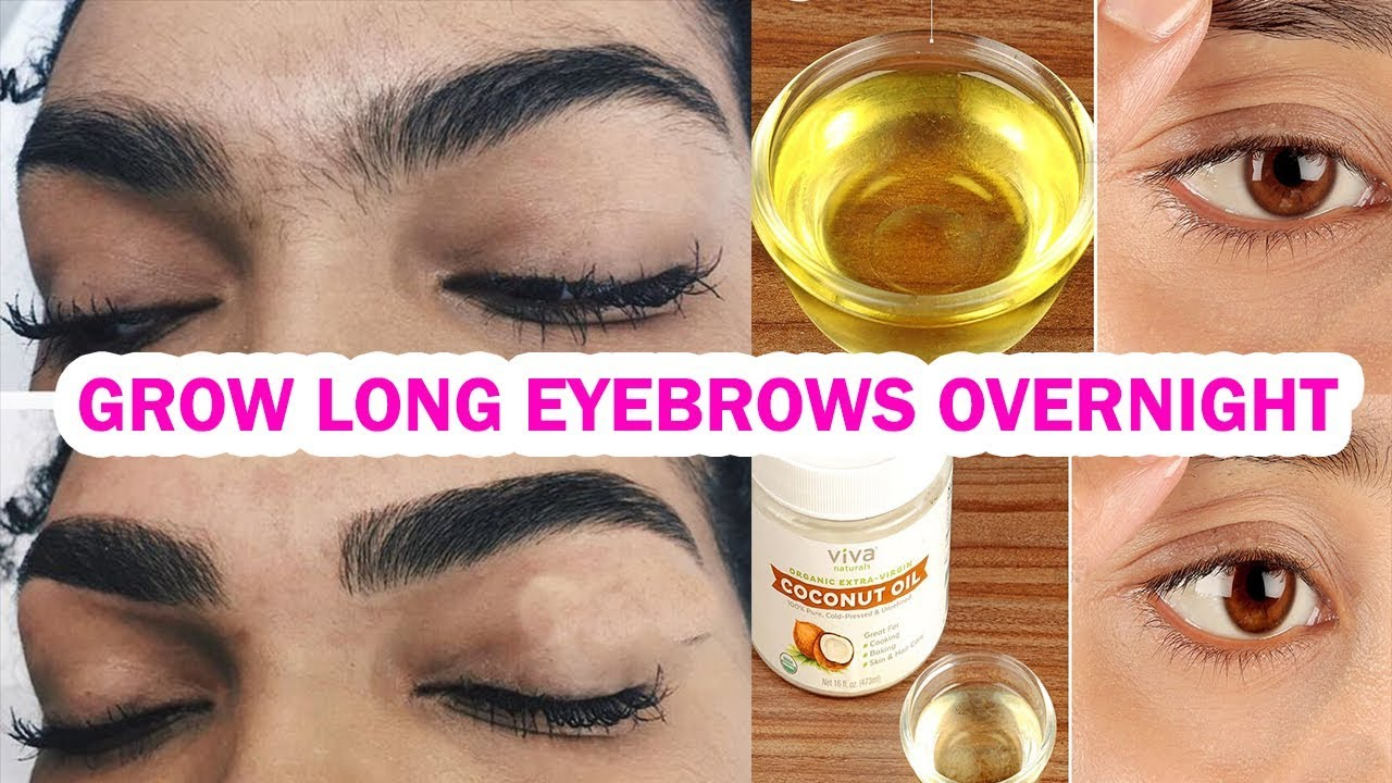How To Grow Long Thicken Eyebrows Eyelashes Overnight 3 Natural
