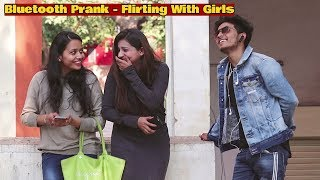 Bluetooth Call Prank On Girls | Flirting With Girls | Navneet Bhardwaj