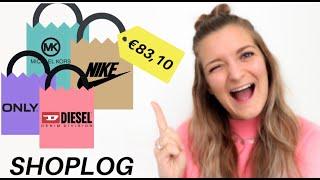 TRY ON SHOPLOG   €83,- KORTING!!   Designer Outlet Roermond   Serena van Ooijen