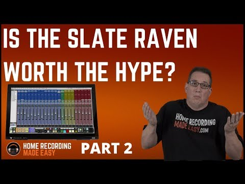 Slate Raven MTI - Video #2 - After 2 Hours of Use