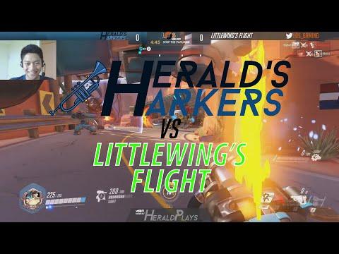 LoS Game Night | Overwatch | MATCH 4| Herald's Harkers vs Littlewing's Flight