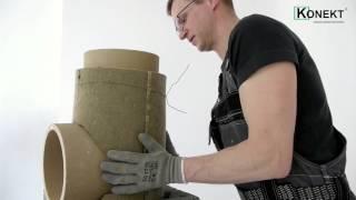 Инструкция по установке модульного дымохода KONEKT