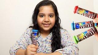 Fingers Family Kid Song Colorful m&m Cute shfa- Kinderlieder und lernen Farben Baby spielen