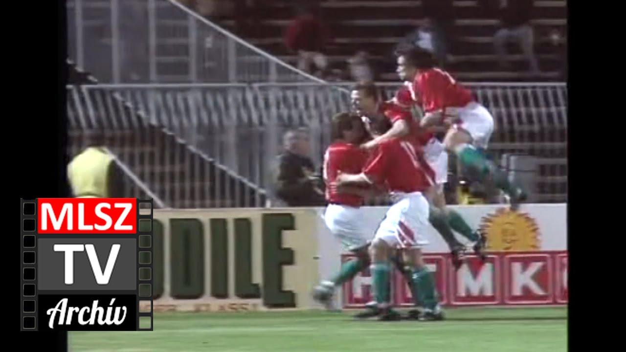 Magyarország-Svédország | 1-0 | 1995. 04. 26 | MLSZ TV Archív