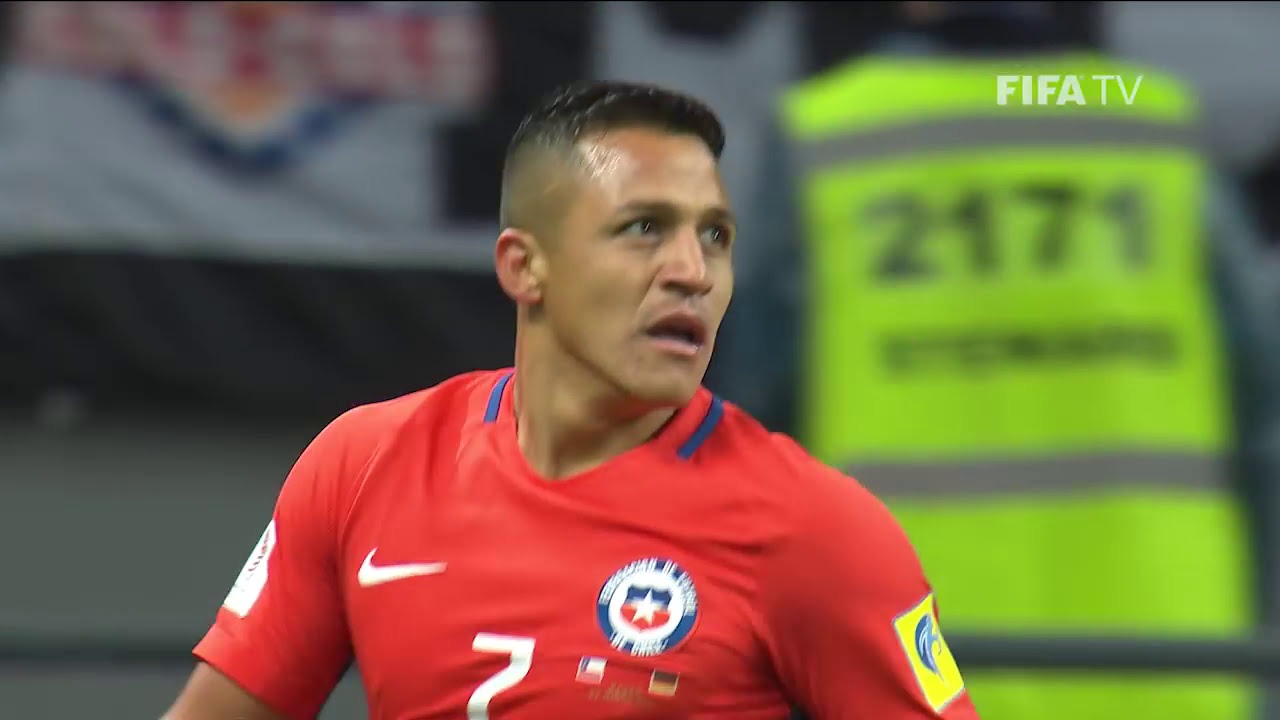 Match 8: Germany v Chile - FIFA Confederations Cup 2017 ... Chilean Soccer Team 2017