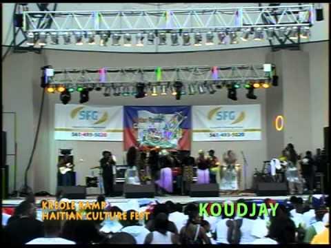 KOUJAY 'LIVE' @KREOLE KAMP , HAITIAN CULTURE MUSIC FOOD FEST