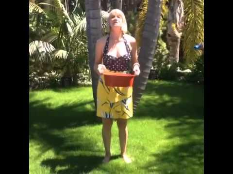 Kerri KenneySilver's ALS ice bucket challenge