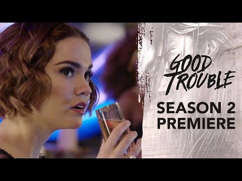When will the second season of Good Trouble premiere?
