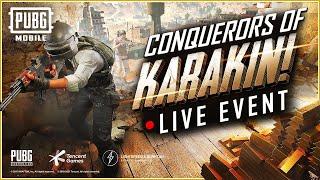 PUBG MOBILE: Conquerors of Karakin!  - LIVE Creator Tournament Event