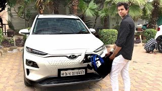 First To Charge Hyundai Kona - Real-life Review 2019 Premium Suv Electric