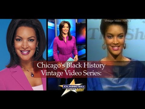 Chicago S Black History Vintage Video Series Tv News Anchor