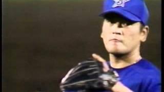 1998年10月8日阪神3-4横浜(甲子園) 横浜優勝決定のシーン.