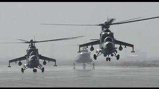 Облёт пограничной зоны российскими военными в Крыму  на Ми-35М