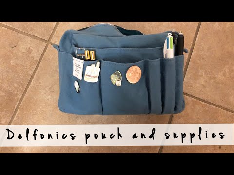 Delfonics Utility Pouch | Journaling Supplies