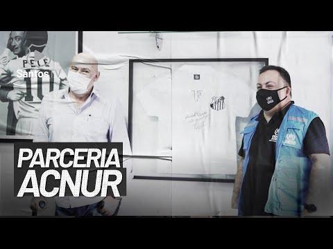 SANTOS RENOVA PARCERIA COM ACNUR