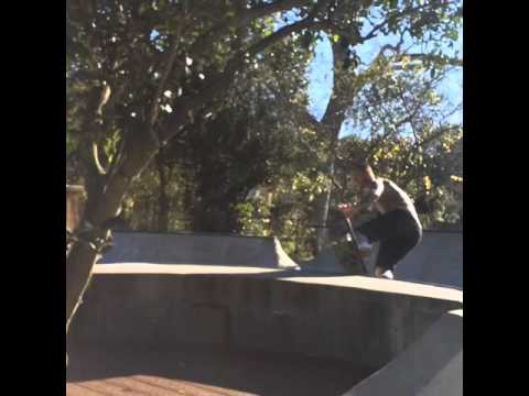 Backside Boneless Fingerflip Old School