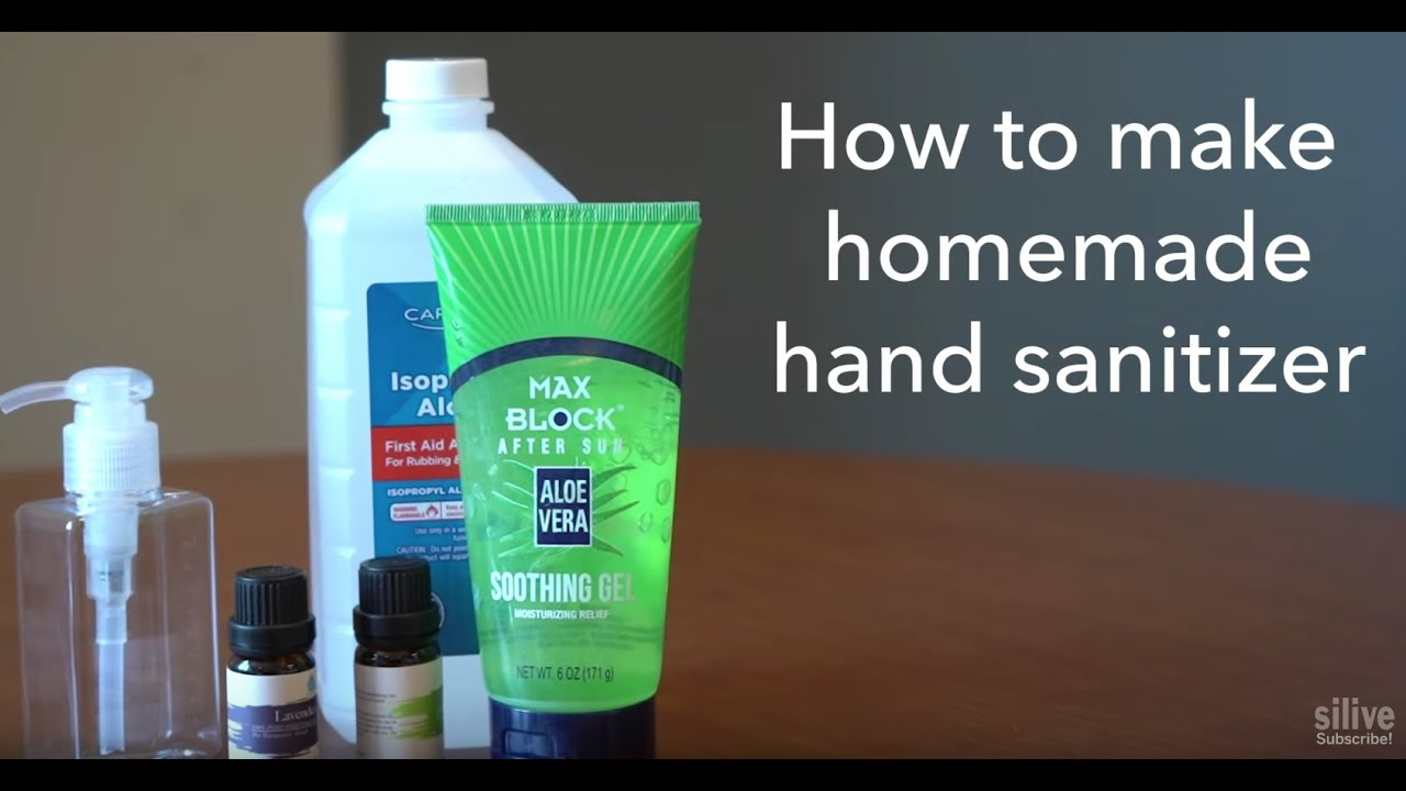 Sold Out Here S How To Make Homemade Hand Sanitizer Youtube