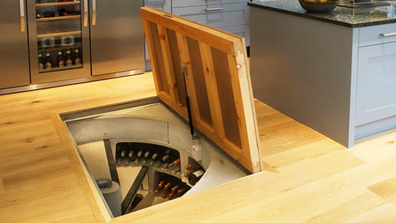 13 секретни помещения в дома и няколко интересни мебели трансформери!