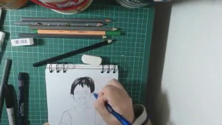 Drawing Ebisu Child - Noragami
