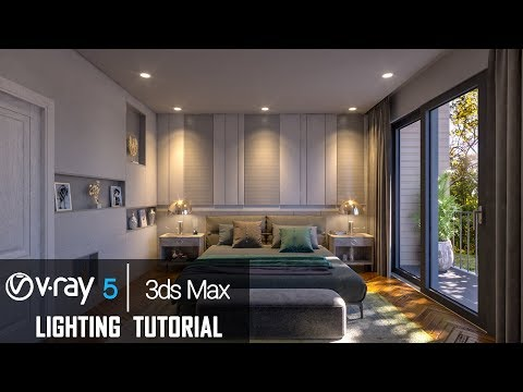 Interior Rendering Tutorial V-Ray 5 For 3ds Max Beta (Photorealistic Render)