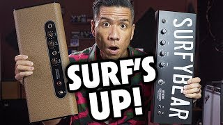 SurfyBear Classic & Metal Spring Reverb units - Surfy Industries