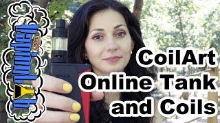 Обзор клиромайзера Online Tank и горы испарителей от CoilArt