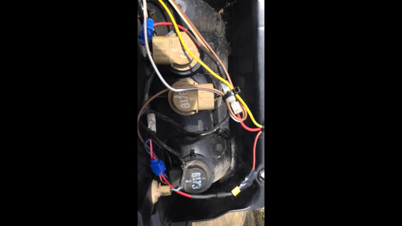 1997 jeep grand cherokee laredo trailer light harness install the easy way  - YouTubeYouTube