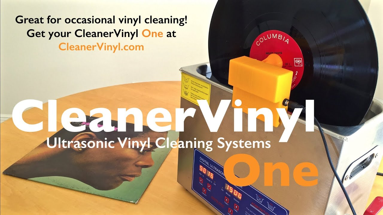 how to clean vinyl records youtube