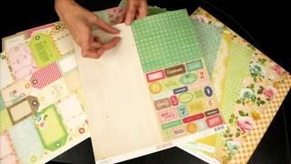 Crate Paper - Pretty Party Scrapbook Collection