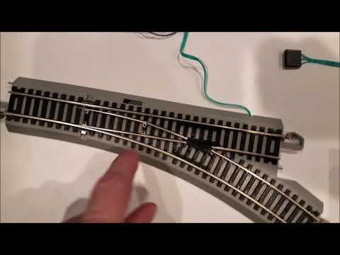 Bachmann EZ Track Turnout Switch Control On DCC With Digikeijs DR4018 from YouTube · Duration:  3 minutes 46 seconds
