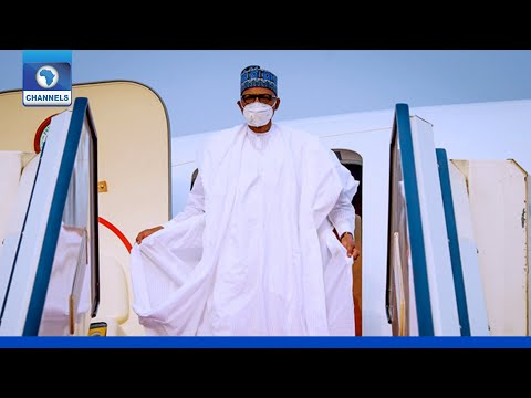 Download Ahmed Joda: President Buhari Arrives In Yola On Condolence Visit
