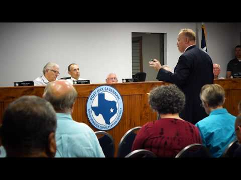 Part Two: Post Oak Savannah Groundwater Conservation District Meeting 10-3-17