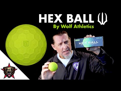 Hex Lacrosse Ball - Wolf Athletics