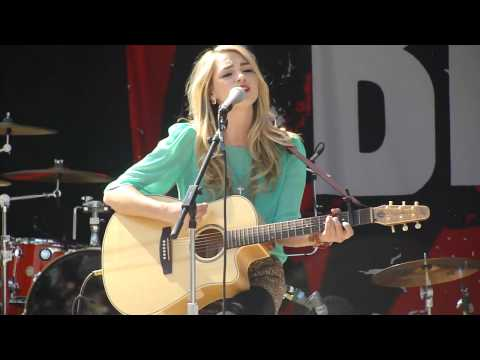 "Katelyn Tarver singing ""Love Alone"" at the Fresno Fair! :)"