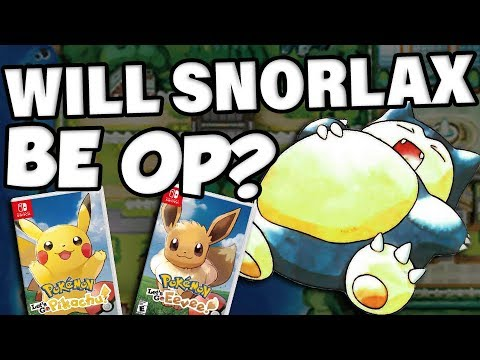 WILL SNORLAX BE OP? Snorlax Competitive Breakdown