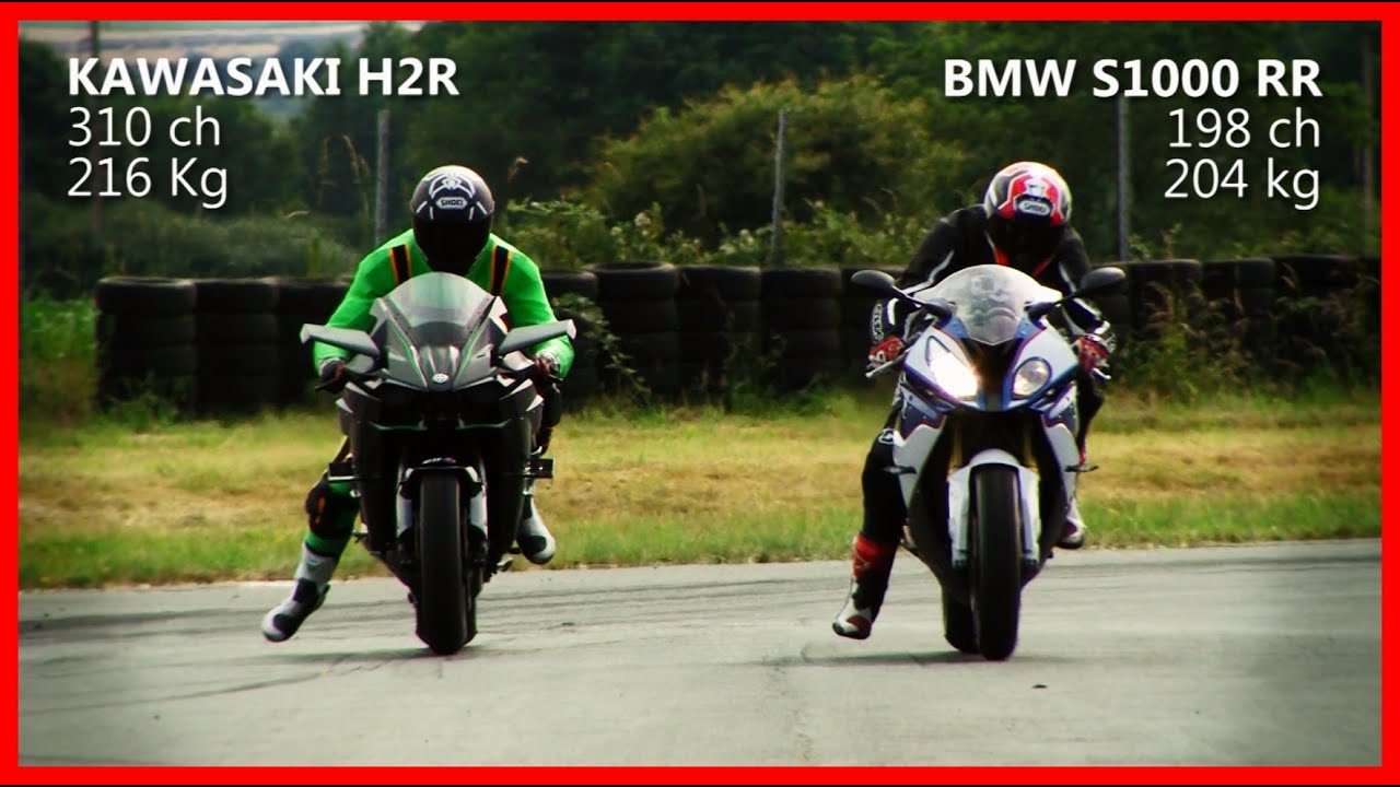 Kawasaki H2r Vs Bmw S1000 Rr