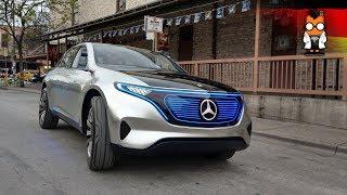 Testfahrt im Mercedes EQ Concept auf der SXSW