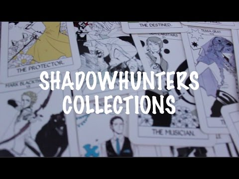 MY SHADOWHUNTERS BOOK (AND SOME MERCH) COLLECTION