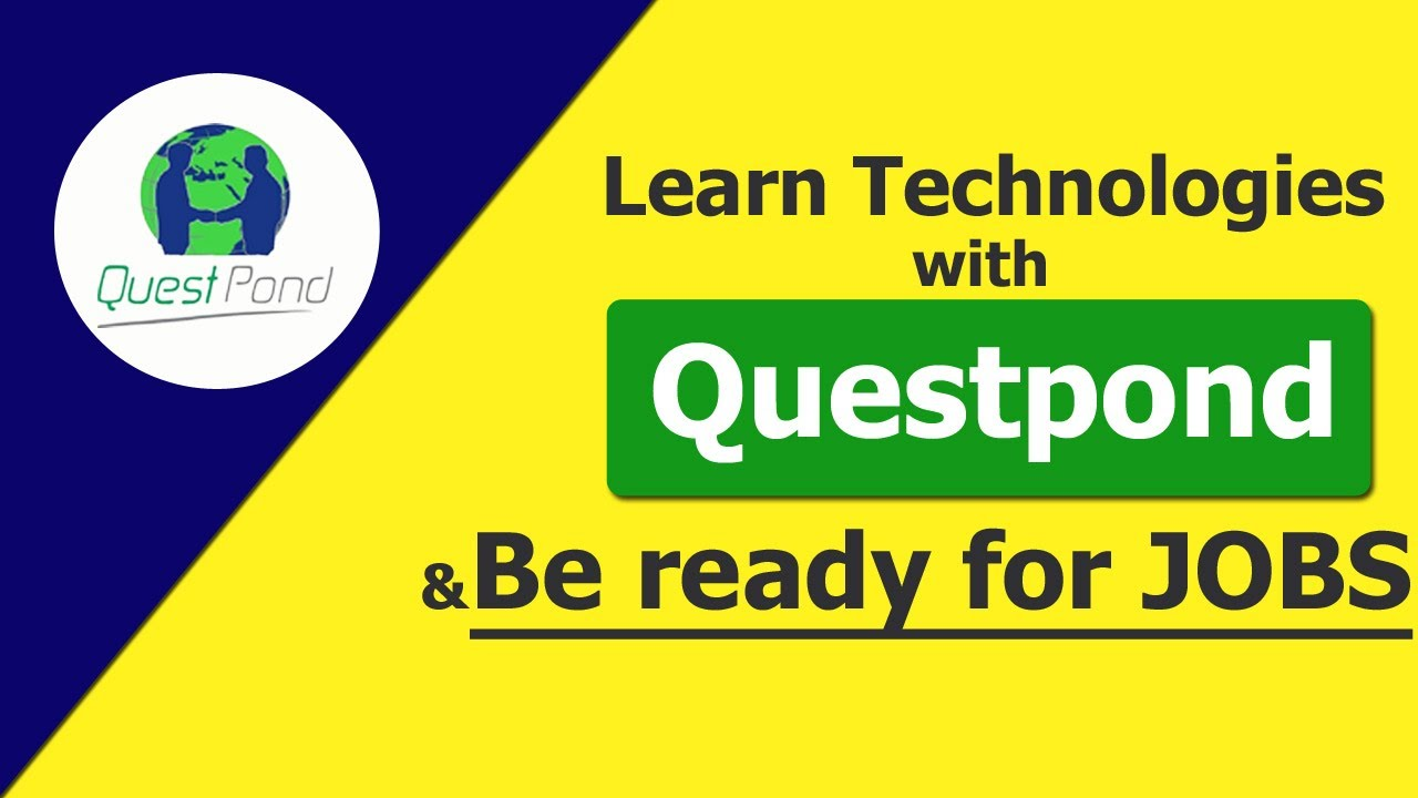 """Learn Technologies with """"Questpond"""" & be ready for Jobs"""
