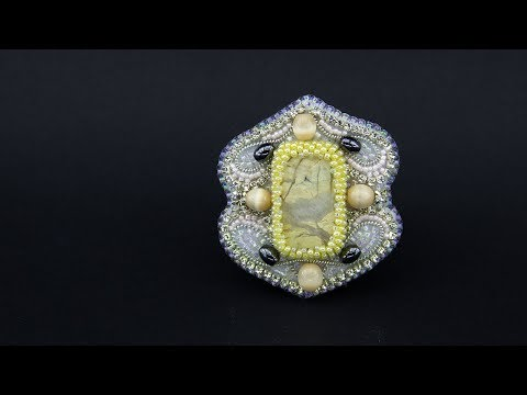 Tutorial How to make a beautiful and stylish brooch by your own hands