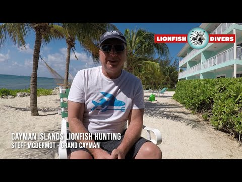 Cayman Islands Lionfish Hunting Interview with Steff Mcdermot