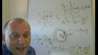 момент инерции круга. Моменты инерции простых фигур. #сопромат