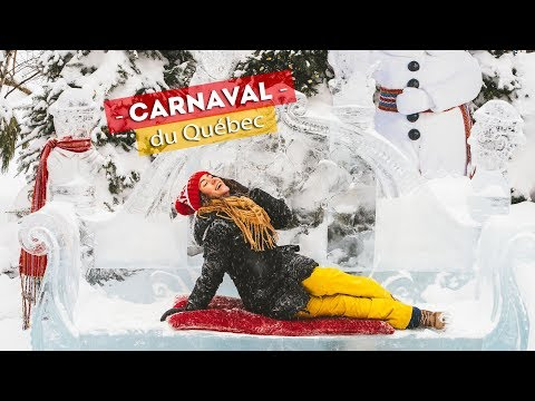 WORLD'S BIGGEST WINTER CARNAVAL!   Carnaval de Quebec in Quebec City